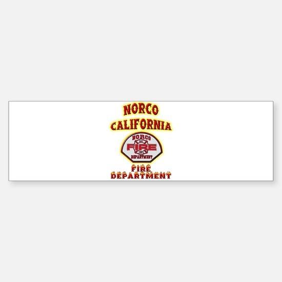 Norco Fire Department Sticker (Bumper)