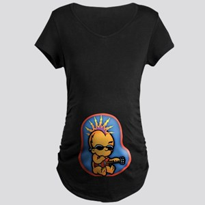Hard in the Core Maternity Dark T-Shirt