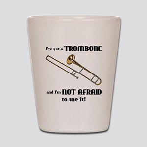 I've Got A Trombone Shot Glass