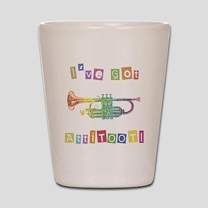 Trumpet Attitude Shot Glass