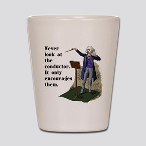Conductor Shot Glass