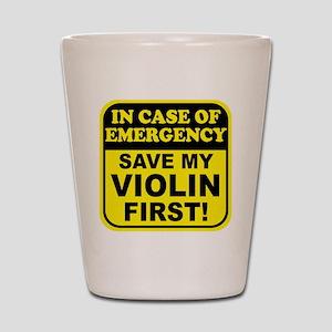 Save My Violin Shot Glass
