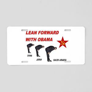 SUBMISSIVE OBAMA Aluminum License Plate