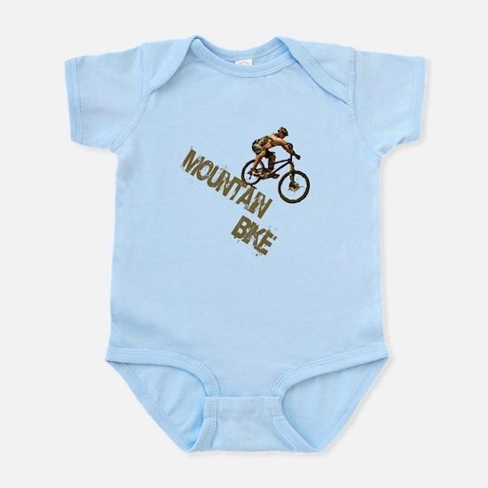 Mountain Bike Downhill Infant Bodysuit