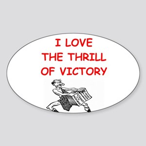 scdrabble joke Sticker (Oval)