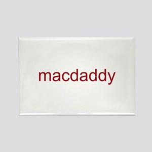 macdaddy red Rectangle Magnet