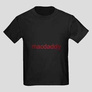 macdaddy red Kids Dark T-Shirt