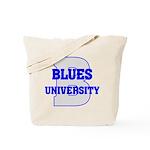Blues University Tote Bag