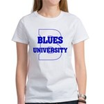 Blues University Women's T-Shirt