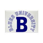 Blues University Rectangle Magnet (100 pack)