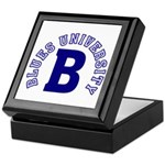Blues University Keepsake Box