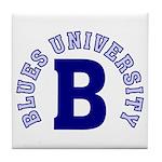 Blues University Tile Coaster