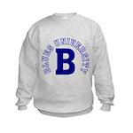Blues University Kids Sweatshirt