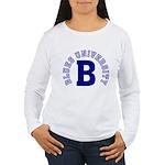 Blues University Women's Long Sleeve T-Shirt
