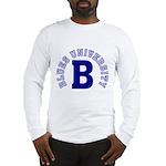 Blues University Long Sleeve T-Shirt