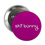 SKI BUNNY Button