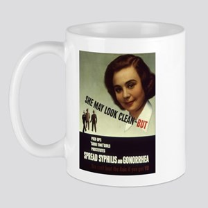 Can't Fight with VD Mug