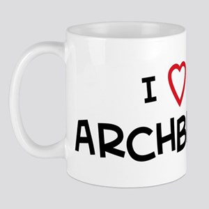 I Love Archbishop Mug
