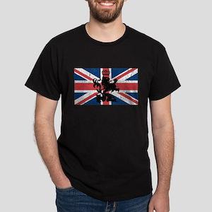 Union Jack Vintage Dark T-Shirt