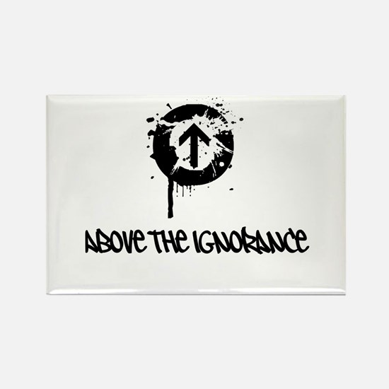Above the Ignorance Rectangle Magnet