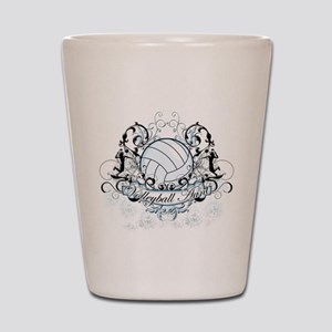 Volleyball Aunt Shot Glass