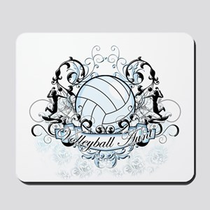 Volleyball Aunt Mousepad