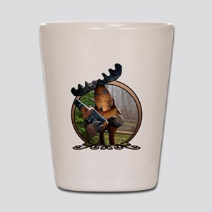 Party Moose Shot Glass