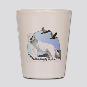 Labs simply the best Shot Glass