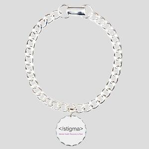 End Stigma HTML Charm Bracelet, One Charm
