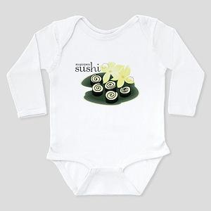 Sugarpea Sushi Long Sleeve Infant Bodysuit