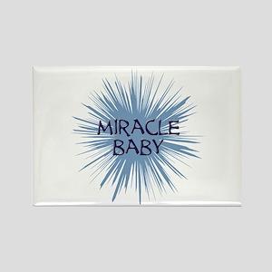 miracle baby purple starburst Rectangle Magnet