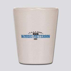 Wright Patterson Air Force Shot Glass