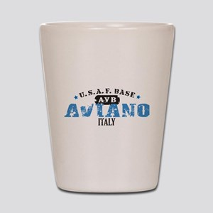 Aviano Air Force Base Shot Glass