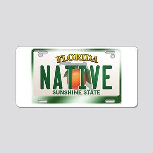"""NATIVE"" Florida License Plate Aluminum License Pl"