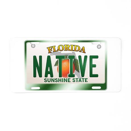 """NATIVE"" Florida License Plate Aluminum License Pl"