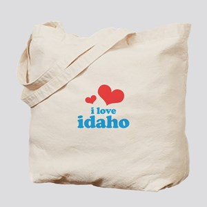 I Love Idaho Tote Bag