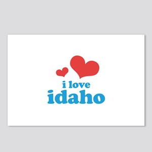 I Love Idaho Postcards (Package of 8)
