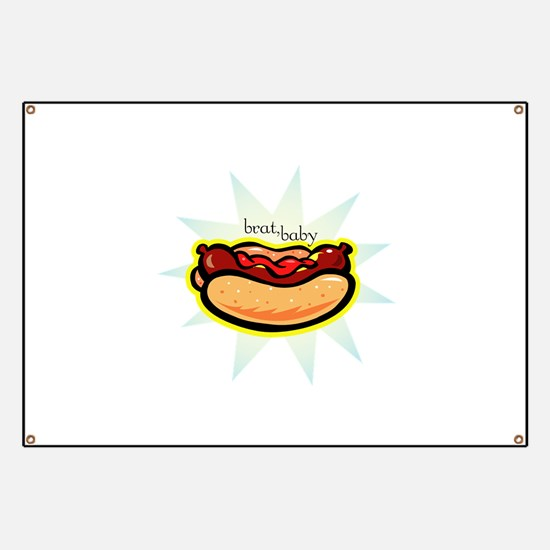 Cute Funny baby Banner