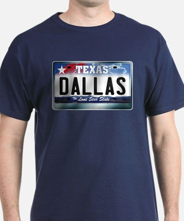 Texas License Plate [DALLAS] T-Shirt