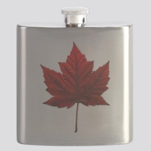 Canada Maple Leaf Flask