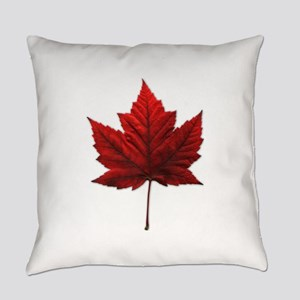 Canada Maple Leaf Everyday Pillow