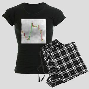 FOREX DOGS Women's Dark Pajamas
