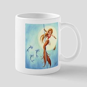 pole_dancing_mermaid_ Mugs