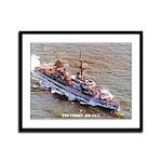 USS CORRY Framed Panel Print