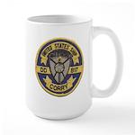 USS CORRY Large Mug