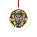 USS CORRY Ornament (Round)