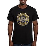 USS CORRY Men's Fitted T-Shirt (dark)