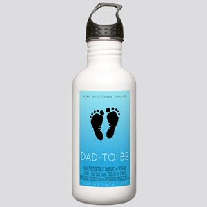 Dad to Be 2011 - Movie Poster Stainless Water Bott