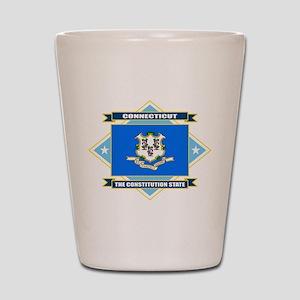 Connecticut Diamond Shot Glass