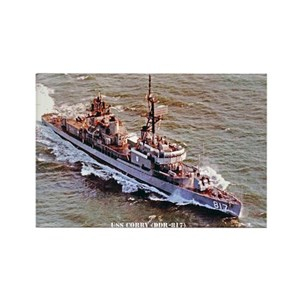 Uss Corry Dd 817 Magnets Cafepress